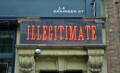 Illegitimate-A-19-September-2016 (Steve Ellwood Whitley Bay) Tags: illegitimate biggmarket club newcastle newcastleupontyne ellwood steveellwood
