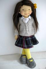 "KATRINA 20"" doll (Dearlittledoll) Tags: waldorf waldorfdoll dearlittledoll organicdoll puppet handmadedoll"