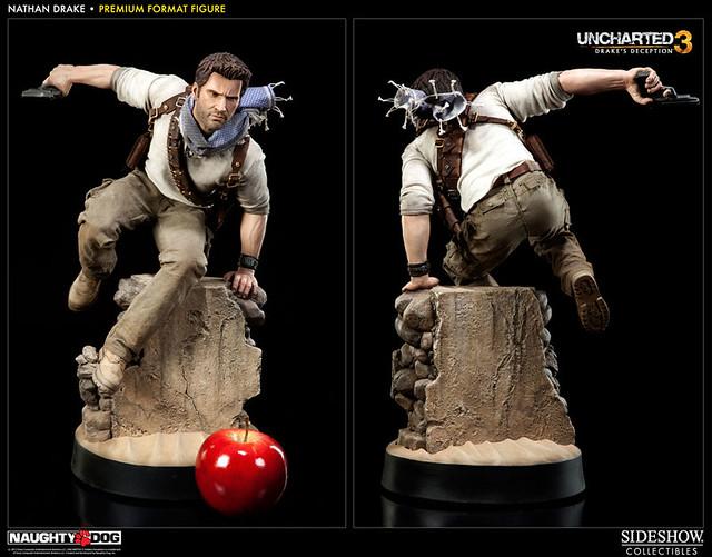 PS3招牌作「秘境尋寶3」主角沙漠奮戰場景立體化!