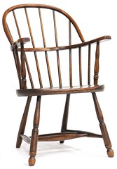 32. Antique English Windsor Arm Chair