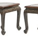 5036. Pair of Chinese Hardwood Side Tables