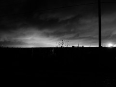 . (hornbeck) Tags: blackandwhite bw oklahoma theend