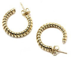1004. Gold Hoop Earrings
