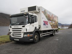 3663 SN08 CCK (Inverness Trucker) Tags: temp food truck frozen fridge lorry delivery freezer multi inverness scania refrigerated foodservice insulated 3663 p230 bidvest 18tonne temperaturecontrolled frigoblock multitemp multitemperature sn08cck bidvest3663
