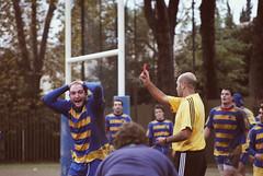 U.S. Primavera rugby (Clo_R) Tags: blue b italy rome primavera sports sport yellow us rugby no union angry fir 1978 serie italiana expulsion federazione