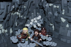 The Paths of the Dead (LukeClarenceVan) Tags: dark dead glow lego earth lord lotr rings glowing aragorn paths olympics middle gimli legolas melo the rockwork lukeclarencevan