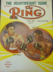 The Ring Magazine - July 1954 (Howard258) Tags: vintage 1954 nostalgia boxing magazines heavyweights ringmagazine boxingmagazine boxingvintage