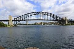 Sydney Harbour Bridge (oxfordblues84) Tags: bridge sky building water architecture clouds au sydney australia worldheritagesite nsw newsouthwales jornutzon sydneyharbour sydneyoperahouse sydneyharbourbridge bennelongpoint thecoathanger ovearuppartners sydneyoperahouseessentialtour