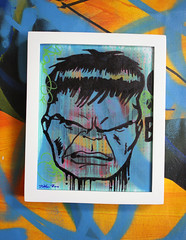 Incredible Hulk by Dillon Boy (DILLON BOY) Tags: show original urban copyright art painting poster photography graffiti 1 graphicdesign dc stencil faile artist acrylic gallery swoon outsider bast fineart spaceinvader banksy sickboy popart streetartist comicbook oil americana coop spraypaint dalek hutch kaws aerosol marvel hush flyingfortress lowbrow bk incrediblehulk missvan sprays eine dolk pureevil wkinteract buffmonster dface numskull mbw benfrost adamneate papermonster bleklerat danbaldwin btoy nickwalker c215 eelus orticanoodles sucklord joshkeyes mrbrainwash tristoneaton prefab77 greggossel stenlex ladyaiko jamesdillonwright dillonboy streetartprints popfusion