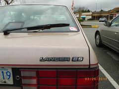 '86-'89 Dodge Lancer ES (Foden Alpha) Tags: dodge chrysler es mapleridge lancer kcar hbody mxf919