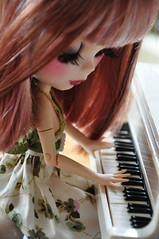 ANN (MUSSE2009) Tags: toys doll piano ann blythe custom veronicalace erregirodolls erregirita