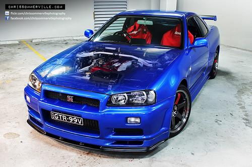 Nissan Skyline R34 GT R V Spec (GTR 99V)