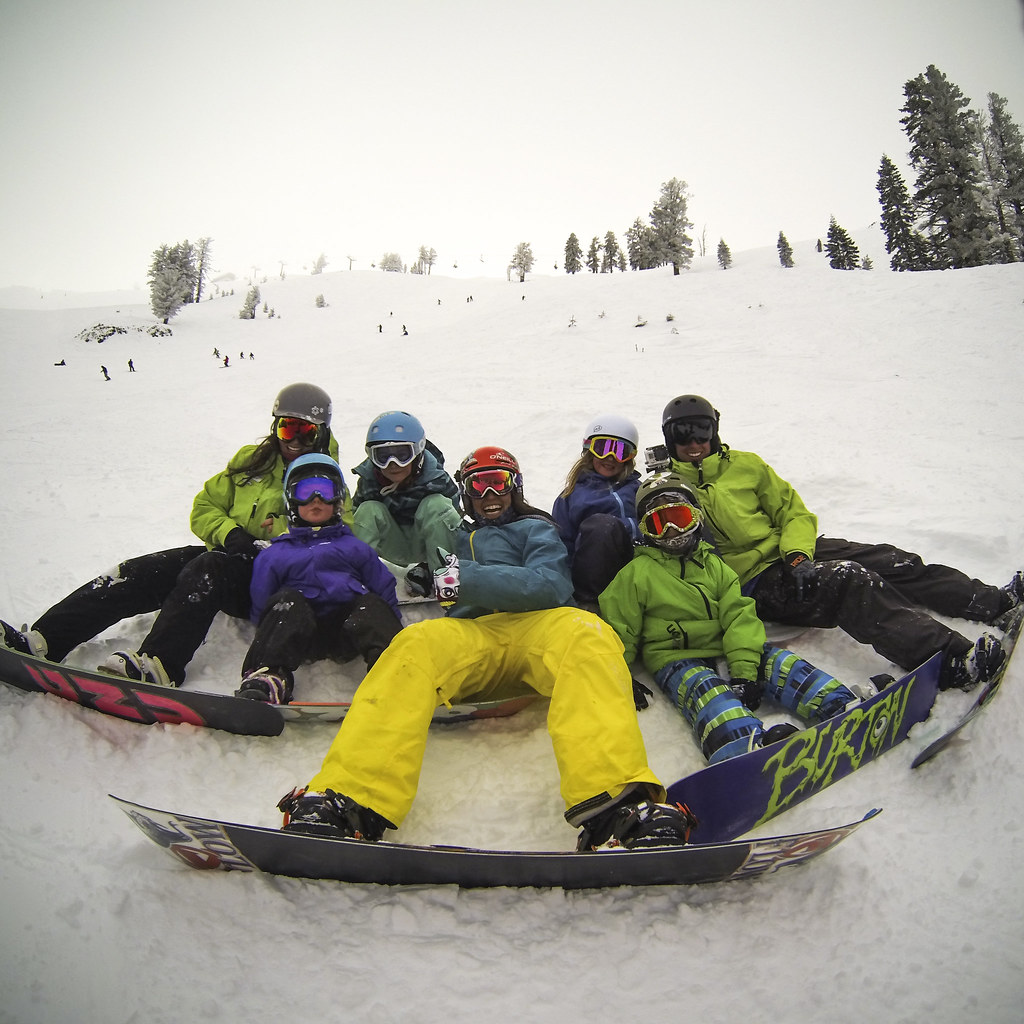 Kids love to shred Alpine Meadows