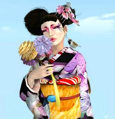 [japanese]SONG (Vixie Rayna) Tags: japan japanese blog skin song avatar fair blogger blogged kimono 2013 casadelshai lovefashion lovefashionblog