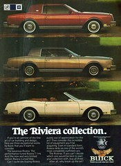 1984 Buick Riveria Coupe, T-Type and Convertible (coc
