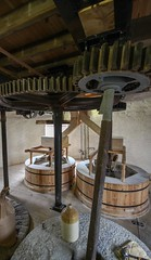 Holgate Windmill - stone floor (5) (nican45) Tags: york slr mill windmill canon yorkshire grain sigma wideangle machinery millstone restoration dslr flour 1020mm gears 1020 shaft holgate 600d stonefloor hwps 1020mmf456exdc holgatewindmill eos600d stonesfloor