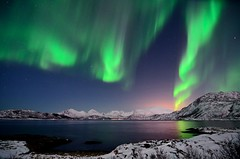 Northern lights last night (John A.Hemmingsen) Tags: longexposure night landscape nordnorge northernlights auroraborealis troms brensholmen arcticlight tokina1116 nikond7000