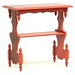 77. Painted Victorian Side Table