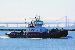 Sandra Hugh (Walt Barnes) Tags: canon eos boat ship vessel richmond calif tugboat tug sanpablobay 60d millerknox canoneos60d sandrahugh eos60d wdbones99
