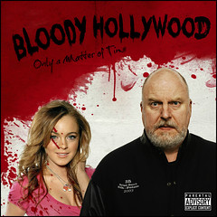 Bloody Hollywood: Only a Matter of Time (Studio d'Xavier) Tags: albumcovers lindsaylohan cdcovers explicitlyrics werehere onlyamatteroftime bloodyhollywood
