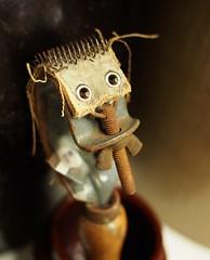 David Beck - No Idea (David.Beck) Tags: david leather metal screw rust beck antique ham bolt beckham gadget becks davids wingnut davidbeck rasp