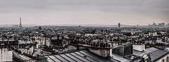 Paris Panorama Beklemmend (claudecastor) Tags: panorama paris abend frankreich sonnenuntergang nebel brogebude montmartre sacrcoeur amour architektur hexagon eiffelturm arcdetriomphe gebude schornstein geschft ladfense metropole quartier dies abendstimmung viertel invalidendom diesig stadtderliebe grosstadt