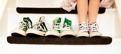 put your foot in it (Green Iris Photography) Tags: stairs boot foot legs converse sit