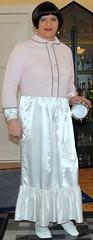 Birgit014043 (Birgit Bach) Tags: shiny satin nightgown glnzend nachthemd