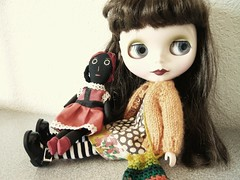 Jael and her dolly Belindy