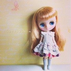 Hello Saturday, have a good weekend. #middie #middieblythe #blythe #blythedoll (Sweet-by-Nim) Tags: square squareformat mayfair iphoneography instagramapp uploaded:by=instagram
