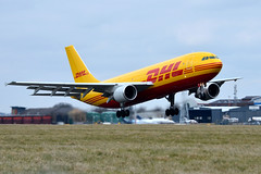 DHL D-AEAK (EAT Leipzig) (Howard_Pulling) Tags: easter march airport nikon aircraft aviation bedfordshire luton spotting lutonairport eastersunday ltn 2013 londonluton hpulling howardpulling nikond5100