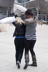Pillows (sahlgoode) Tags: people canada prime edmonton events alberta flickrmeet pillowfight ö hughlee nikond90 afnikkor50mm118d internationalpillowfightday sahlgoode®