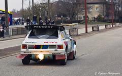 205 T16 Evo 2 Terre (G. Regisser Photographie) Tags: b 2 car canon voiture musée 200 70 groupe f28 peugeot montbéliard rallye evo 205 t16 aventure sportive sochaux 550d
