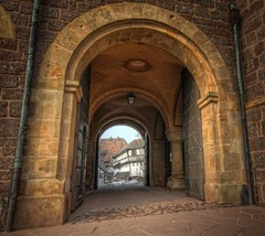The Doorbow (Batram) Tags: castle heritage germany word thringen europe columns thuringia burg wartburg eisenach welt sulen kulturerbe bgen