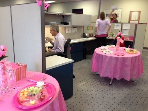 Our office goes PINK!