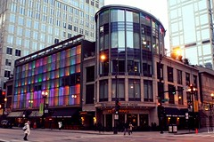 Goodman Theatre Center Lights (dangaken) Tags: chicago illinois downtown loop il dearborn goodmantheatre goodmantheater