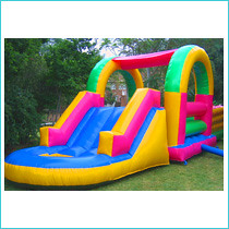 Bounces and slides (thomandreas) Tags: castles jumping slides offers combos bounces