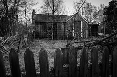 The Radley house (Belhaven2011) Tags: house forest scotland wooden condemned nikon ruin scottish highland shack jem aviemore radley cairngorm rothiemurchus tokillamockingbird lairigghru harperlee booradley 1685 coylumbridge 1685mm nikond7000 radleyhouse belhaven2011 johnlawsonbelhaven