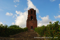 St Augustine bell tower Bantay (BohemianTraveler) Tags: old city horse heritage architecture island town site asia pacific district philippines colonial chinese unesco mexican spanish filipino sur vigan ilocos kalesa luzon calesa mestizo