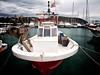 La barca de pesca en el puerto de Moraira. (monsalo) Tags: puerto mar mediterraneo barca barco pesca moraira monsalo