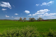Green earth .... (Simos1968) Tags: bluesky greenfields sometrees dayoftheearth farawayhills simos1968
