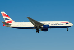 G-BNWO  British Airways Boeing 767-336/ER (Osdu) Tags: airplane airport aircraft aviation aeroplane boeing aviao flugzeug britishairways avin aereo spotting dme avion avia vliegtuig flygplan planespotting boeing767   aeroplano lentokone  samolot uak flugvl domodedovo   luftfahrzeug lennuk    uudd gbnwo  letoun 767 fastvingefly aroplanum