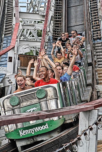 The Thunderbolt at Kennywood