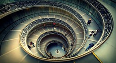 Down The Plughole (>Cluke) Tags: pictures italy panorama sculpture vatican hot rome colour art architecture digital golden cool italia fuji basilica awesome digitalart perfectday artsy fujifilm picturesque visualart onfire avantegarde xe1 colourlicious cluke fujifilmxe1 fujixe1