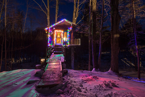 The Tiny Fern Forest Treehouse - Lincoln, VT - 2013, Feb - 04.jpg