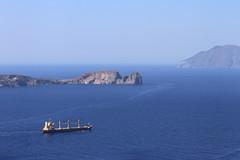 Sea road (Simos1968) Tags: summer aegean aegeansea milosisland simos1968 acargoboattraveling