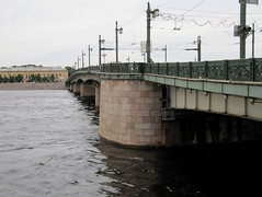 The Neva river. The Liteyny bridge (leraorsi70) Tags:  saintpetersburg neva river    bridge  liteyny