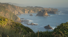 The aim of life is to live, and to live means to be aware, joyously, drunkenly, serenely, divinely aware... (ferpectshotz) Tags: california sunset northerncalifornia evening pacificocean pacificcoast mendocinocoast