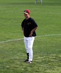Coach Nathan Bowker - PLDM1806 (Paul L Dineen) Tags: sports coach baseball csl 2016 firstbase nathanbowker coachnathanbowker