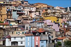 lanusei (heavenuphere) Tags: lanusei ogliastra sardegna sardinia sardinie italia italy europe island colourful houses architecture 24105mm